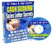 Cash Sucking Sales Letter Secrets