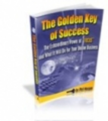 Product picture The Golden Key Of Success!